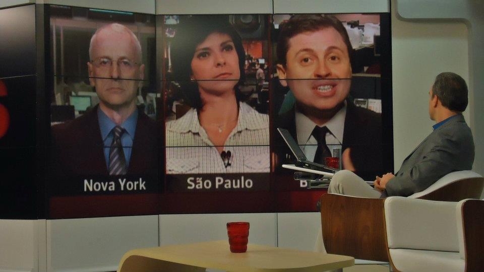Movimento Gota D'Água no GloboNews em Pauta