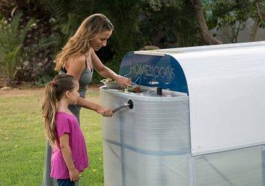 Lixo caseiro gera energia