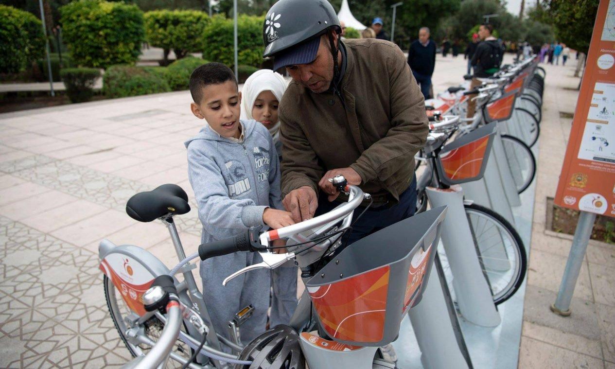 bicicletas/bikes na COP22