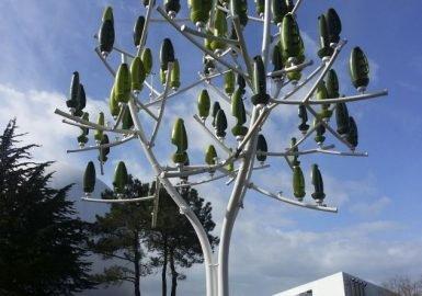 Árvore que dá eletricidade
