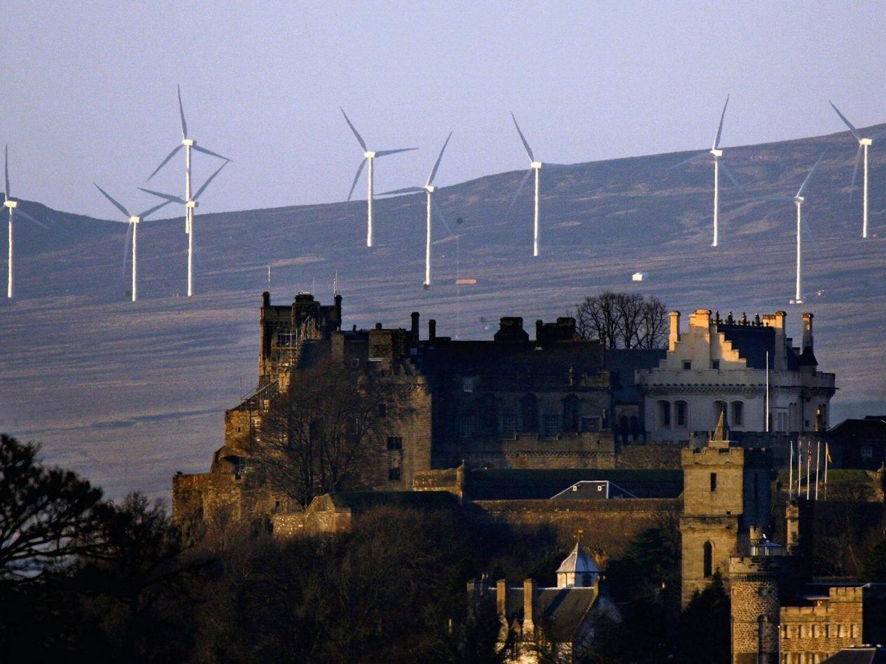 Energia eólica na Escócia