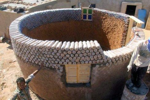Casas de pet no Saara