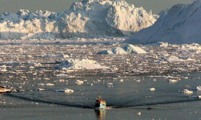 Mar de lixo no Ártico garbage