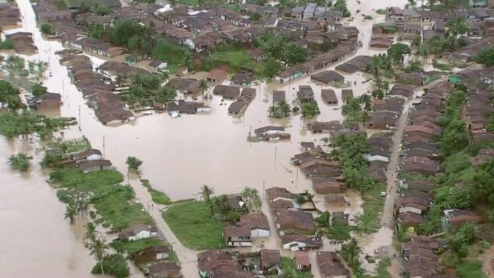 Enchente em Alagoas - Sirene + alerts