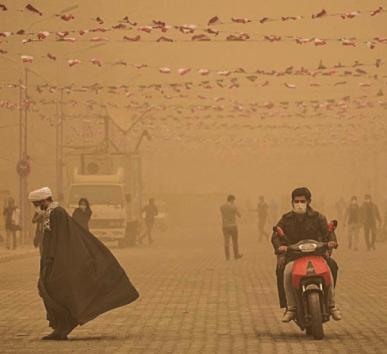 Ahvaz, Irã - clima - record temperatures