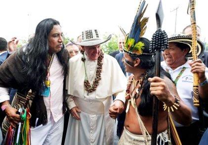 Papa Francisco na Colômbia - Sermão Ambiental - environmental sermon