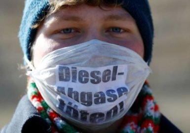 Primeira marcha engatada contra o diesel