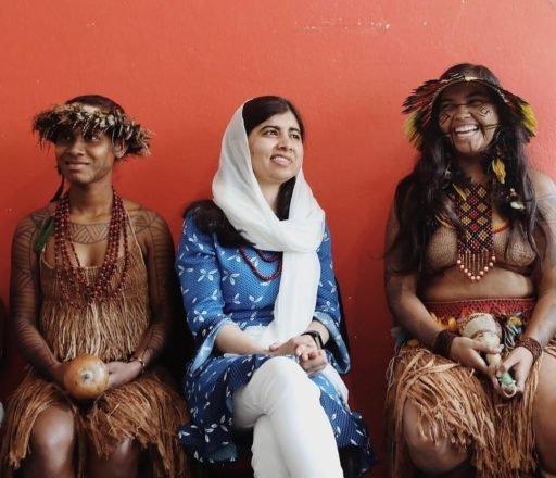 Malala se conecta aos indígenas