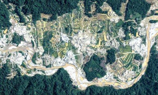 Drones sobre a Amazônia