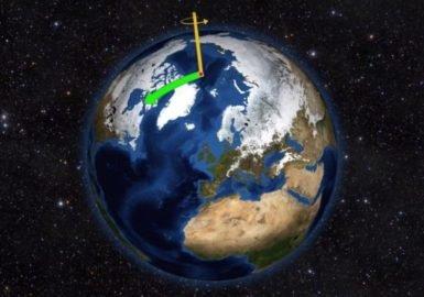 Mudanças climáticas interferem na rotação a Terra